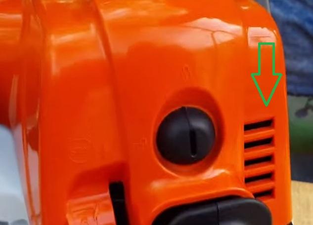 Дополнительная вентиляция в крышке MS 180