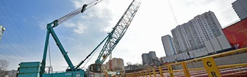 Хуснуллин: первый тоннель построен на юго-западном участке БКЛ метро