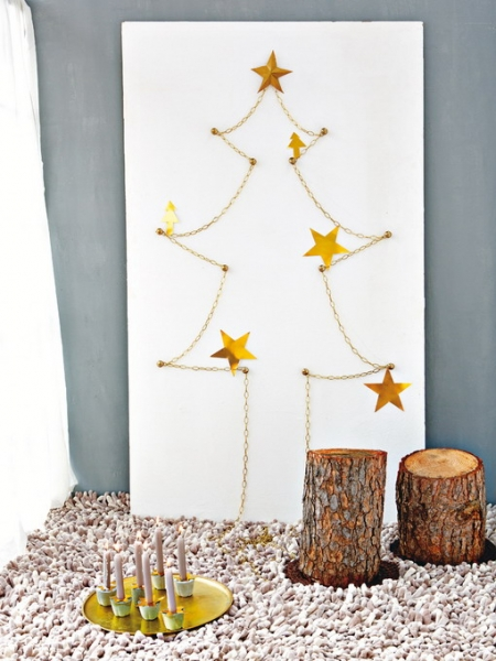 Маленькие елки своими руками, 3 мастер-класса для поделок вместе с детьми